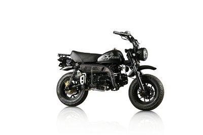 Skyteam Skymini, EFI, 125cc, Euro4, Zwart