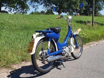 Sold! Honda PC50, Blauw