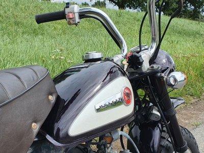 Honda Monkey J2, 2566km