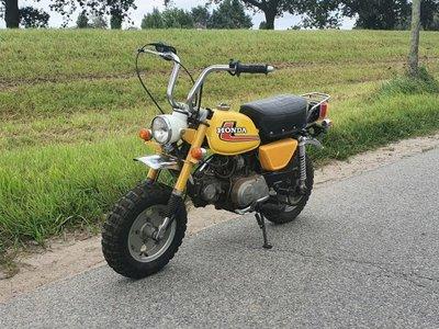 Honda Monkey J1, 8348 km
