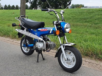 VERKAUFT Honda Dax, 7526 km