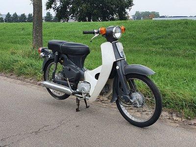 Honda C50 OT Japanese, gray, 5897 km