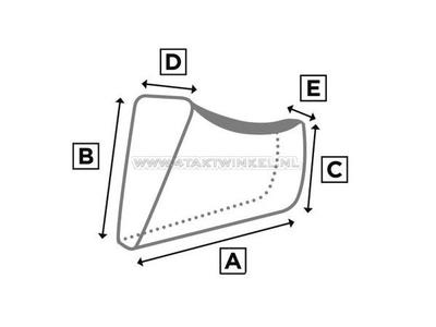 Schutzhülle, MASH 400 ccm-500 ccm, Scrambler, XL
