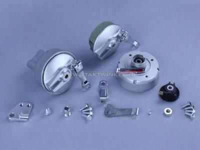 Radsatz, 17 Zoll , C50, C70, C90, Streetcub, Solid, schlauchlos