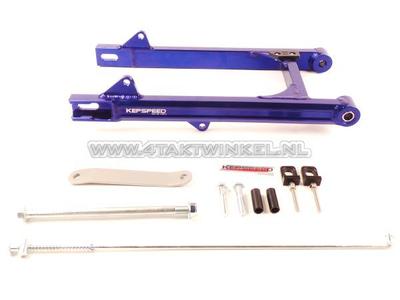 Schwinge C50, SS50, CD50 Aluminium, Kepspeed, + 6 cm, blau