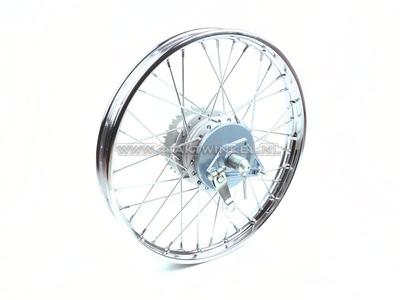 Rad komplett, Hinterrad, 17 Zoll C50, CD50, (SS50) mit Zubehör