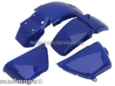 KotflügelSet, Ape 50, Ape 125, mit deckel, blau