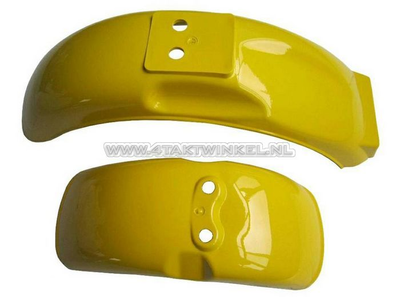 Kotflügel Set, Monkey, gelb