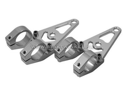 Scheinwerferhalterungen, Universal, CNC-Aluminium, 26 mm