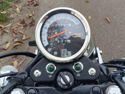 VERKOCHT! Mash Fifty, 50cc, rood, 14092km