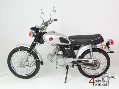Honda CL50, Japanese, 6493 km, with papers