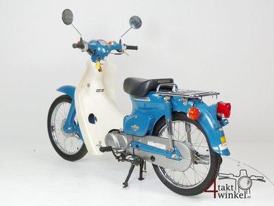 VERKAUFT Honda C50 NT Japans, blue, 4524 km