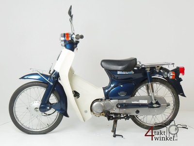 VERKAUFT ! Honda C50 NT Japans, blue, 8860 km