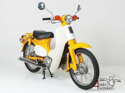 ZU VERMIETEN: Honda C50, Gelb