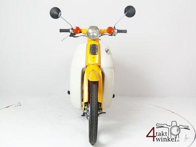 SOLD Honda C50 NT Japanese, yellow, 10118 km