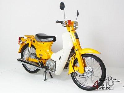 Honda C50 NT Japanese, yellow, 13775km