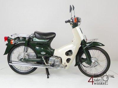 SOLD! Honda C50 NT Japanese, green, 5800 km