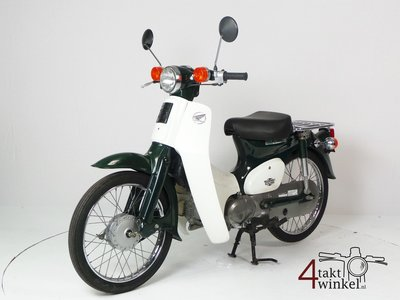 Honda C50 NT Japanese, green, 6000 km, with papers