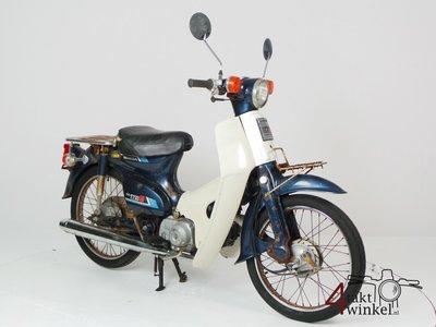 VERKAUFT Honda C50 NT Japans, blue, fixer upper