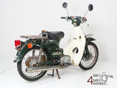 VERKAUFT ! Honda C50 NT Japanese, green, fixer upper 2