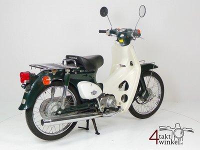 VERKAUFT ! Honda C50 NT Japanese, green, 6159 km