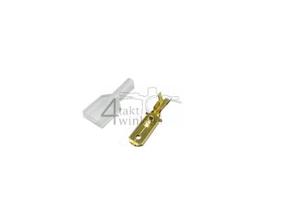 Anschluss japanisch Platt 6,3 mm, männlich