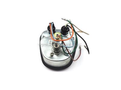 Tachometer C50 K1, bis 90 km/h, original Honda, NOS