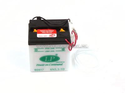 Batterie 6 Volt 5,5 Ampere, C90 OT