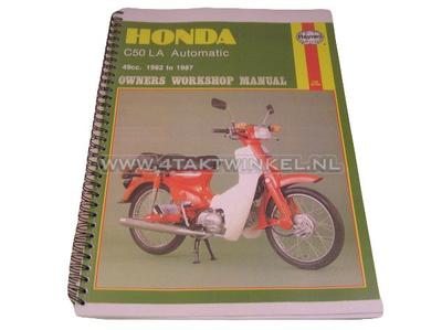 Werkstatthandbuch, Honda C50 Automatik, Kopie