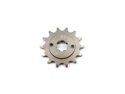 Ritzel, 415 Kette, 17 mm Welle, 14, C310, PC50, PS50