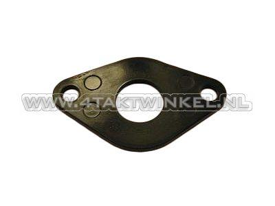 Ansaugkrümmerdichtung / Isolator 16 mm breiter Flansch, original Honda