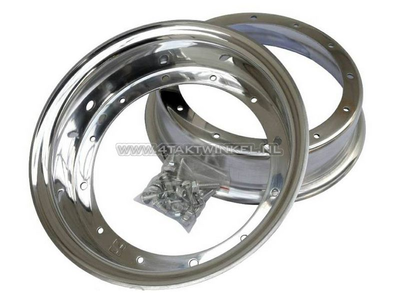 Felge Dax 10 Zoll Aluminium, Standardoptik, 3.00 Kepspeed