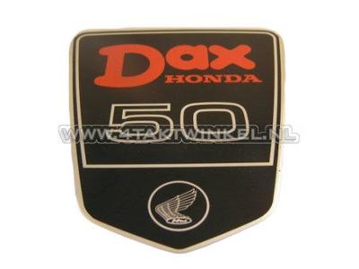 Aufkleber Dax Emblem unter Sitzbank groß, DAX 50, original Honda
