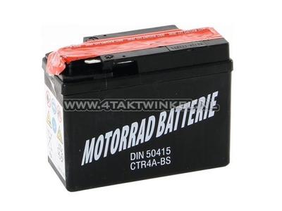 Batterie 12 Volt 4 Ampere, CTR4A-BS Benly, Monkey