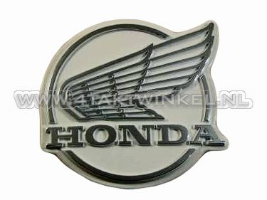 Beinschutz-Emblem C50 NT, alter Stil, original Honda