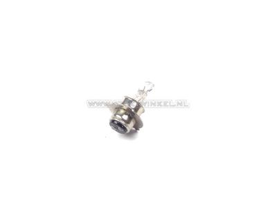 Scheinwerfer Lampe P15d, Doppelt, 6 Volt, 25-25 Watt, zB SS50 Nachfertigung-Sockel