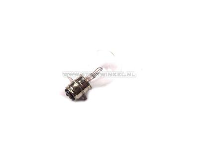 Scheinwerfer Lampe P15d, Doppelt, 12 Volt, 25-25 Watt, zB SS50 Nachfertigung-Sockel