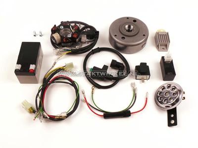 CDI Zündung Umrüstsatz & 12 Volt Strom CB50, CY50