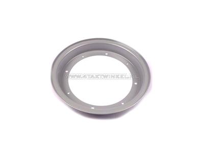 Felge Dax 10 Zoll Stahl, halb rechts, 2.50 Standard (Ventil)