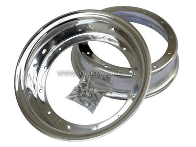 Felge Dax 10 Zoll Aluminium, Standardoptik, 3.50 Kepspeed