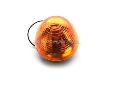 Blinker C50 vorne, Punktglas, Nachfertigung