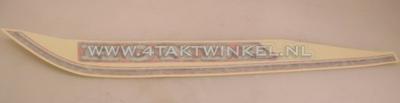 Aufkleber C50 NT Tank rot links, original Honda NOS