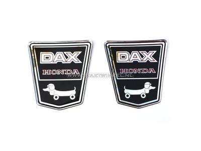 Aufkleber Dax Emblem unter Sitzbank, funny dog links & rechts Gel