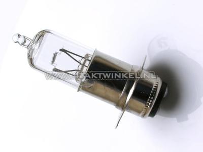 Scheinwerfer Lampe P15d, Doppelt, 12 Volt, 25-25 Watt, zB SS50 Nachfertigung-Sockel, Halogen
