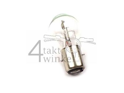 Scheinwerfer Lampe BA20d, Doppelt, 6 Volt, 20-20 Watt, zB Dax