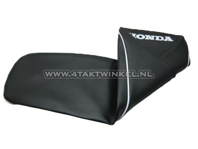 Sitzbankbezug CD50 schwarz, weißer Keder