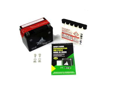 Batterie 12 Volt 4 Ampere Säurepackung, CT4L-BS