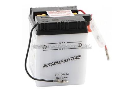 Batterie 6 Volt 4 Ampere, C50, CB50, Bleibatterie, Aftermarket
