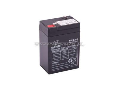 Batterie 6 Volt 4,5 Ampere, SS50, Dax, Gel, Universal