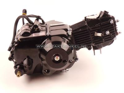 Motor, 50 ccm, halbautomatisch, Lifan, 4-Gang, schwarz